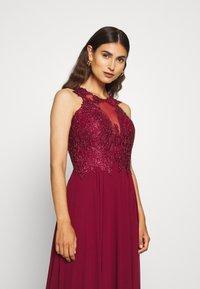 Luxuar Fashion - Společenské šaty - bordeaux - 4