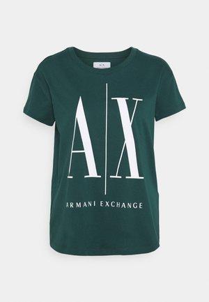 Print T-shirt - sea moss
