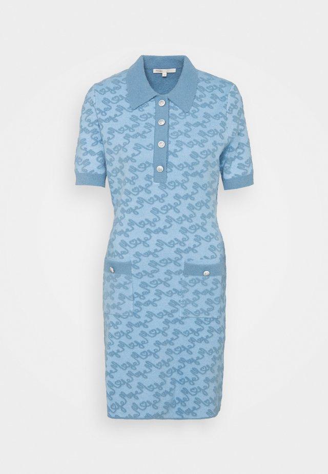 ROETIC - Gebreide jurk - bleu ciel