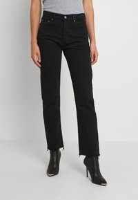 Levi's® - 501 CROP - Jeans Tapered Fit - pitch dark - 0