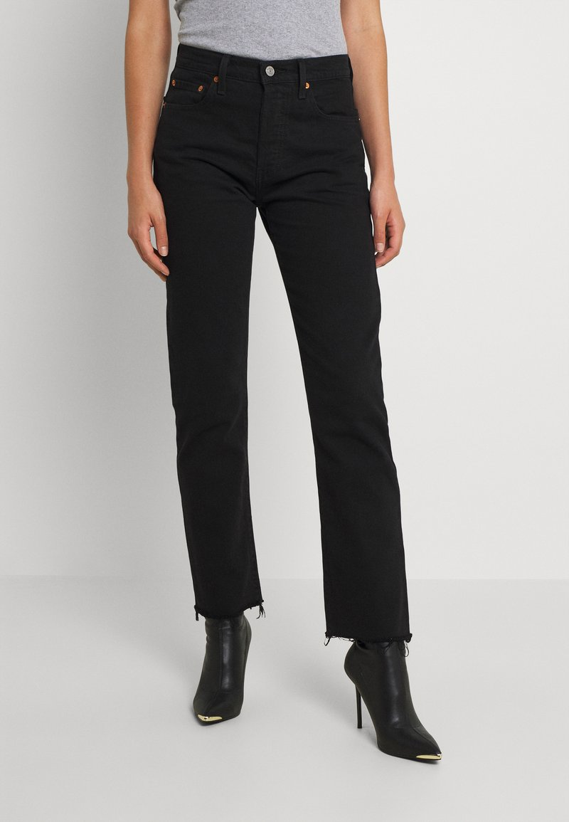 Levi's® - 501 CROP - Jeans Tapered Fit - pitch dark