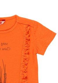 Boboli - T-shirt print - tangerine - 3