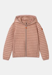 Save the duck - IRIS HOODED UNISEX - Lehká bunda - powder pink - 0