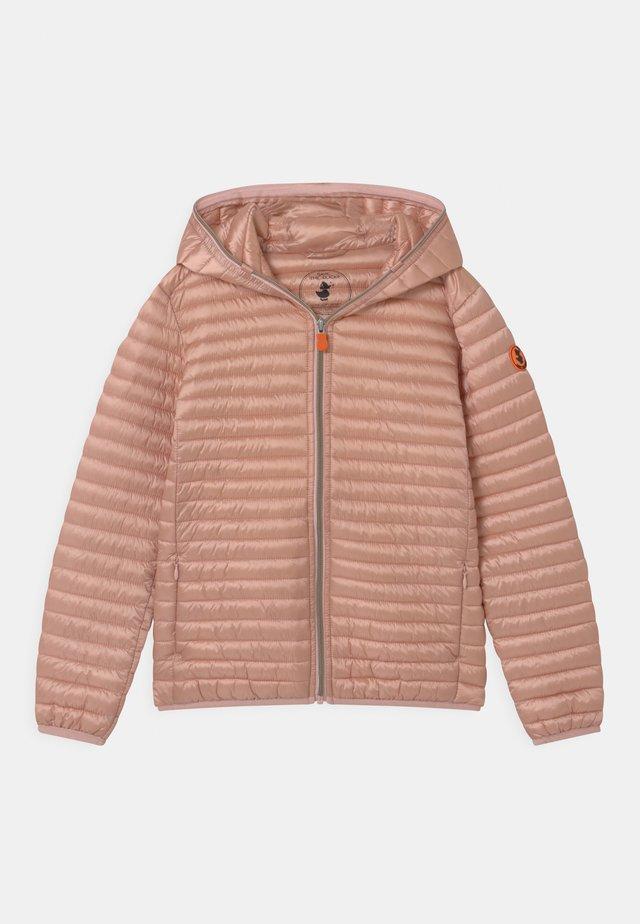 IRIS HOODED UNISEX - Light jacket - powder pink