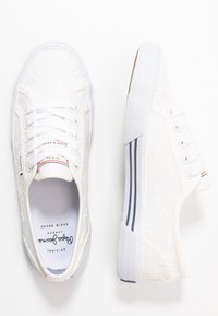 Pepe Jeans - ABERLADY ANGY  - Sneakersy niskie - white - 3
