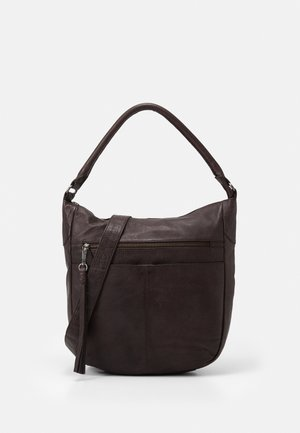 STUDDY - Tote bag - brown