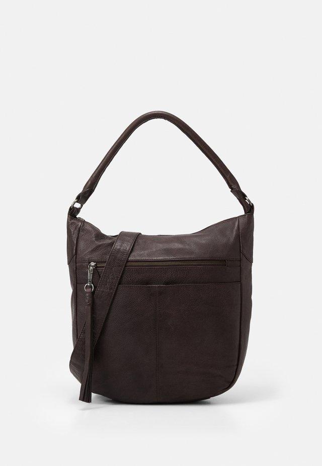 STUDDY - Shopping Bag - brown