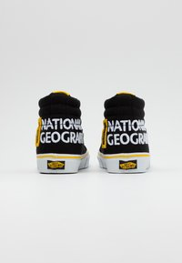 Vans - SK8 REISSUE - High-top trainers - black/yellow/multicolor - 2