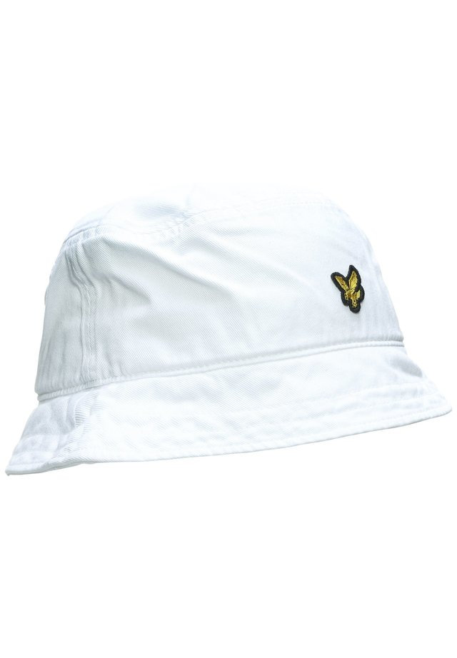 COTTON TWILL BUCKET HUT - Hat - white