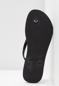 Havaianas - SLIM GLITTER - T-bar sandals - black - 6