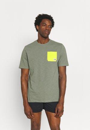 CAMPEN TEE - Camiseta estampada - agave green