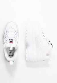Fila - DISRUPTOR - Baskets basses - white - 3