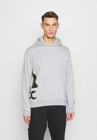 adidas Performance - BOXBOS - Hoodie - medium grey heather - 0