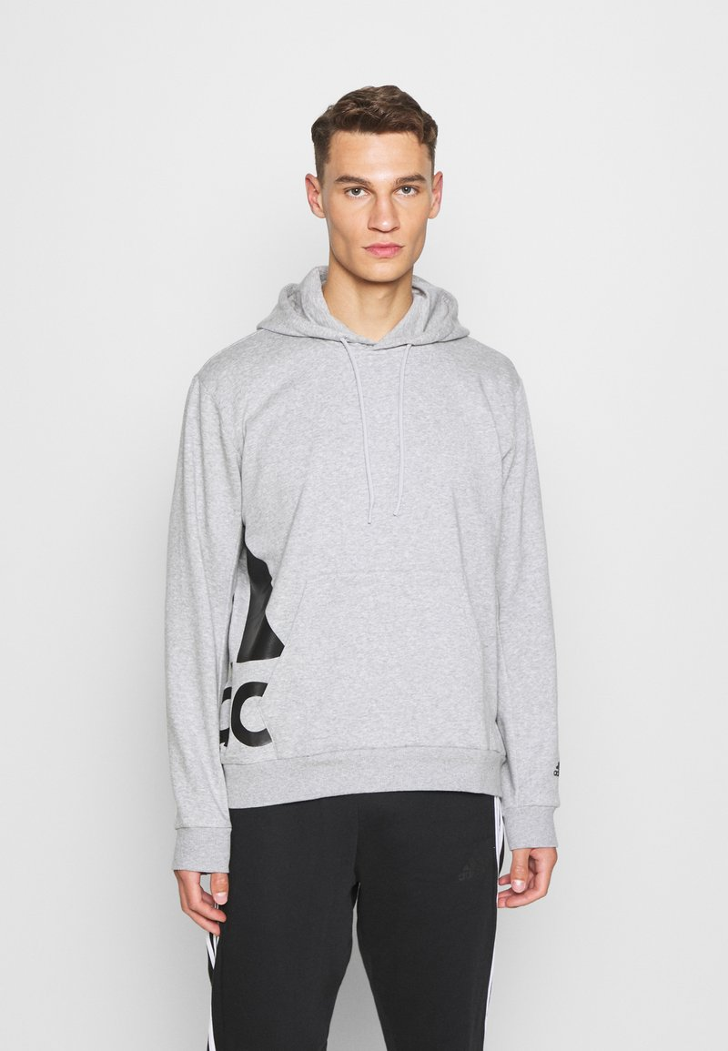 adidas Performance - BOXBOS - Hoodie - medium grey heather