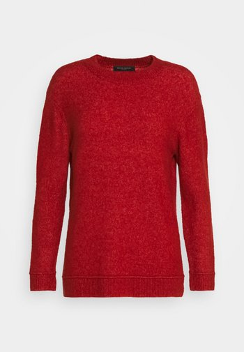 HOLLY JOHANNE  - Jumper - brick red