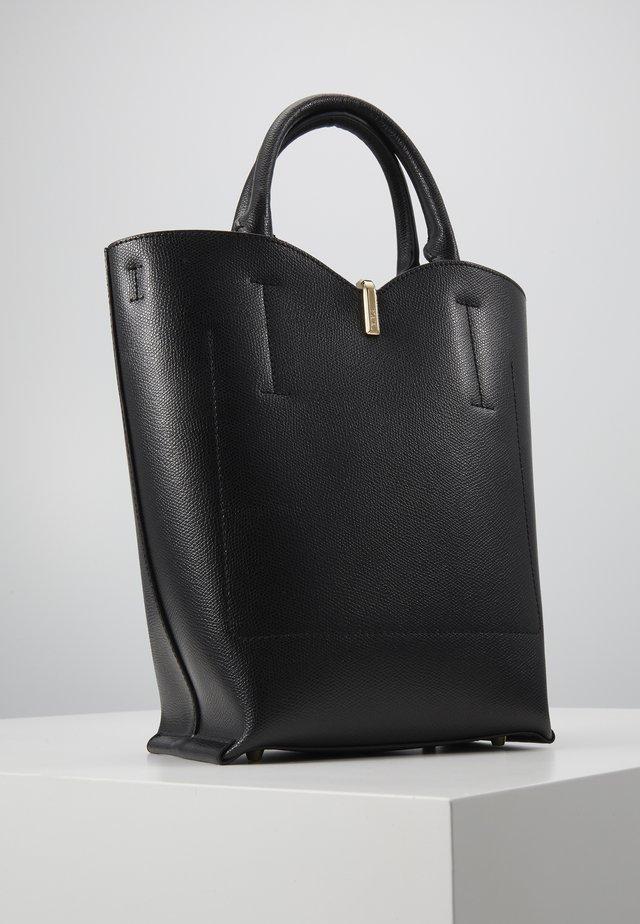 RIBBON BUCKET BAG - Käsilaukku - nero