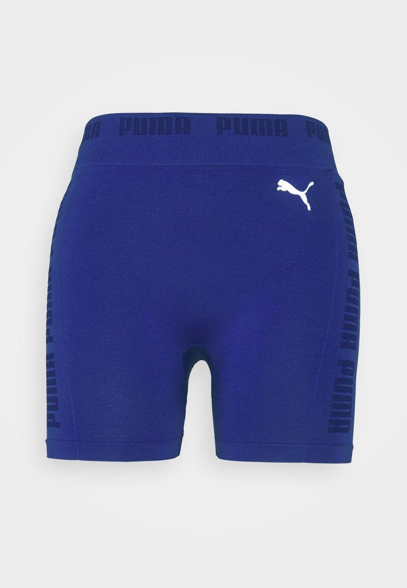 Puma - SEAMLESS SHORTS - Leggings - clematis blue