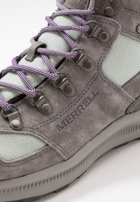 Merrell - ONTARIO 85 MID WP - Hiking shoes - charcoal - 5