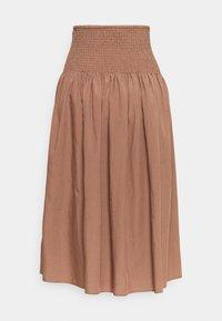ARKET - A-line skirt - light brown - 1