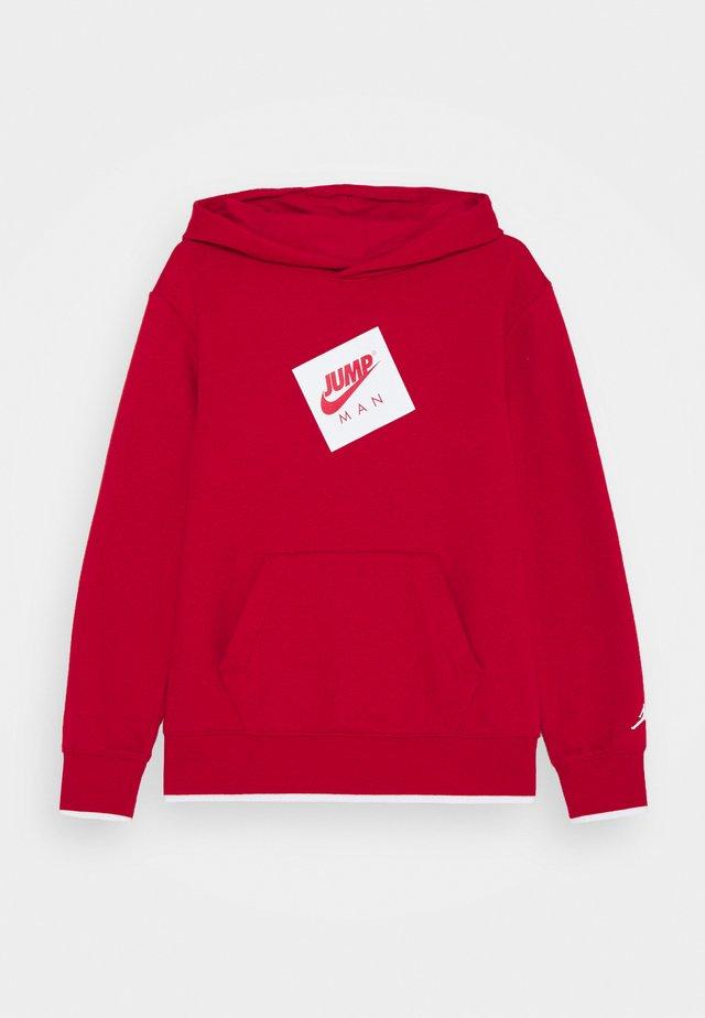 JUMPMAN HOODIE UNISEX - Felpa con cappuccio - gym red
