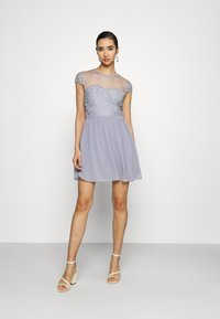 Nly by Nelly - DREAM ON DRESS - Cocktail dress / Party dress - dusty blue - 1