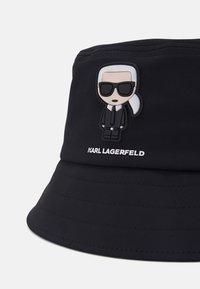 KARL LAGERFELD - BUCKET HAT UNISEX - Hut - black - 3