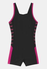 Speedo - BOOM LOGO SPLICE  - Swimsuit - black/electric pink - 0