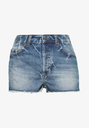 TRIGGER HIPPIE SISTER - Denim shorts - medium blue