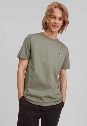 TEES JACK`S UTILITY - Jednoduché triko - agave green