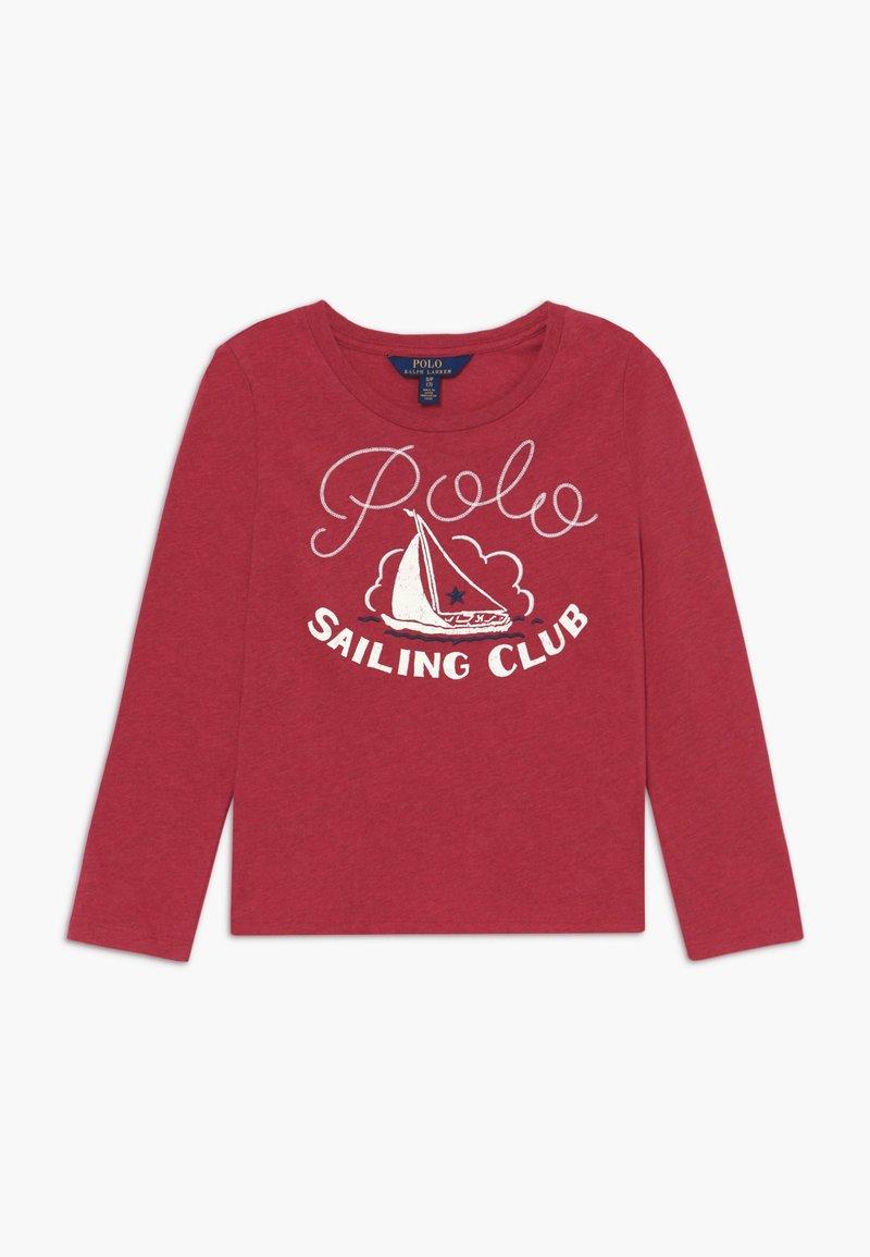 Polo Ralph Lauren - Top sdlouhým rukávem - flame heather