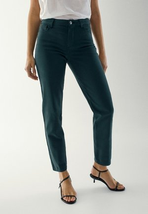 BROKEN TWILL  - Spodnie materiałowe - green