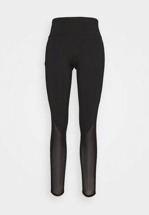 PANEL LEGGINGS CORE - Leggings - black