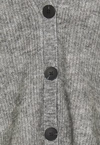 Object Tall - OBJHOLLY - Cardigan - medium grey melange - 2