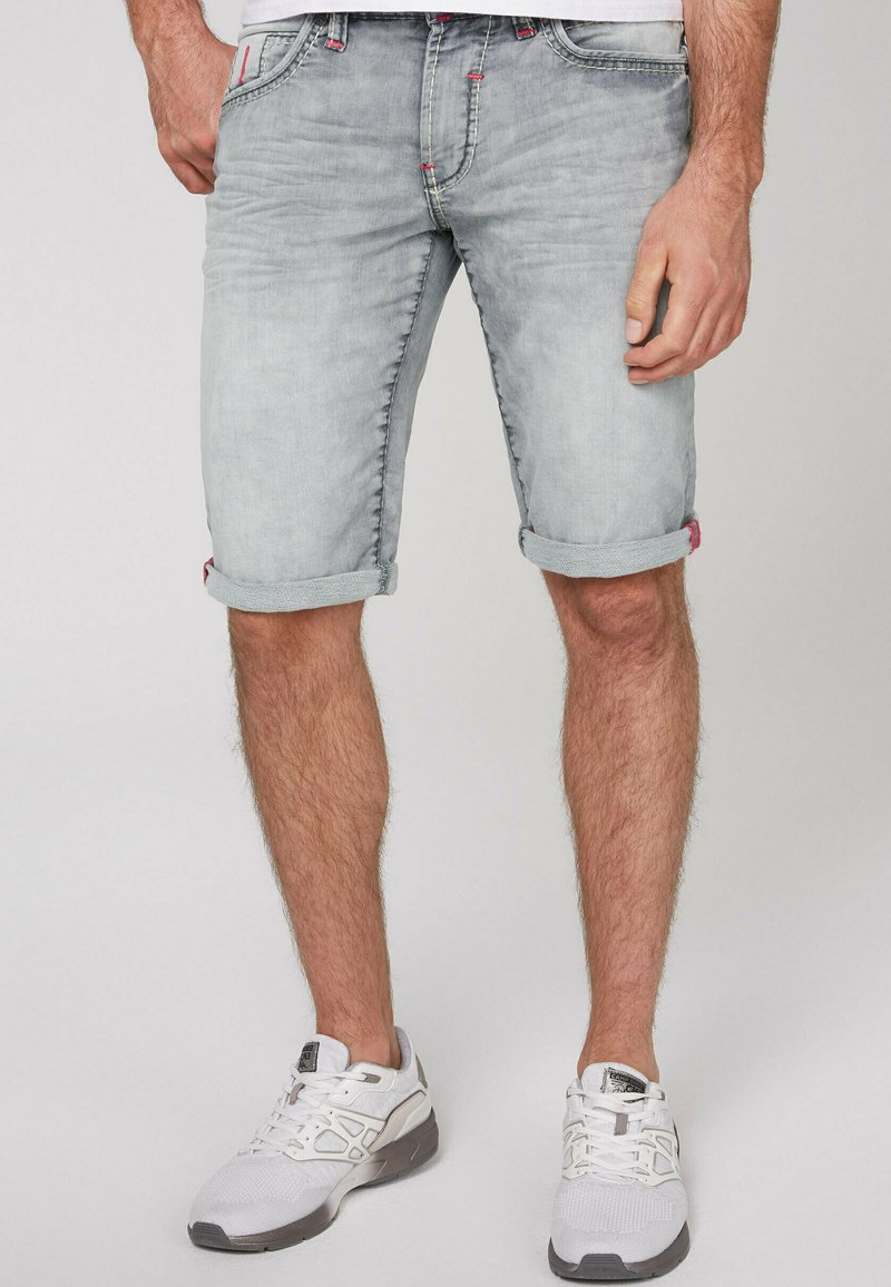 Camp David - Denim shorts - jogg grey