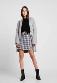 Fashion Union - CILLIAN SKIRT - A-line skirt - grey - 1