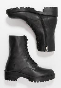 Who What Wear - LEXI - Platform ankle boots - black - 3