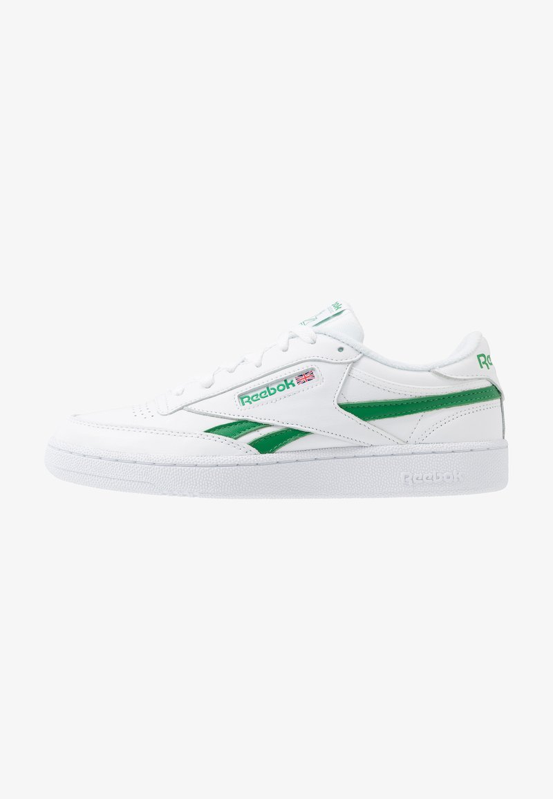 Reebok Classic - CLUB C REVENGE  - Trainers - white/glen green