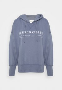 Abercrombie & Fitch - LOGO POPOVER - Hoodie - blue - 4