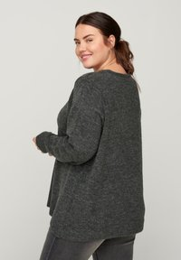 Zizzi - Jumper - dark grey - 2