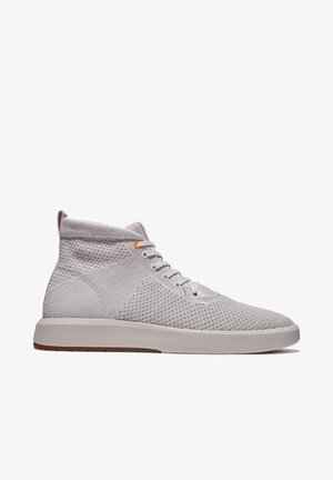 TRUECLOUD EK + KNIT CHUKKA - Korkeavartiset tennarit - rainy day