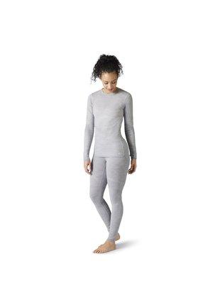 INTRAKNIT - Sweter - light gray h/white