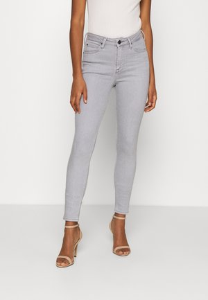 SCARLETT HIGH - Jeans Skinny Fit - light grey
