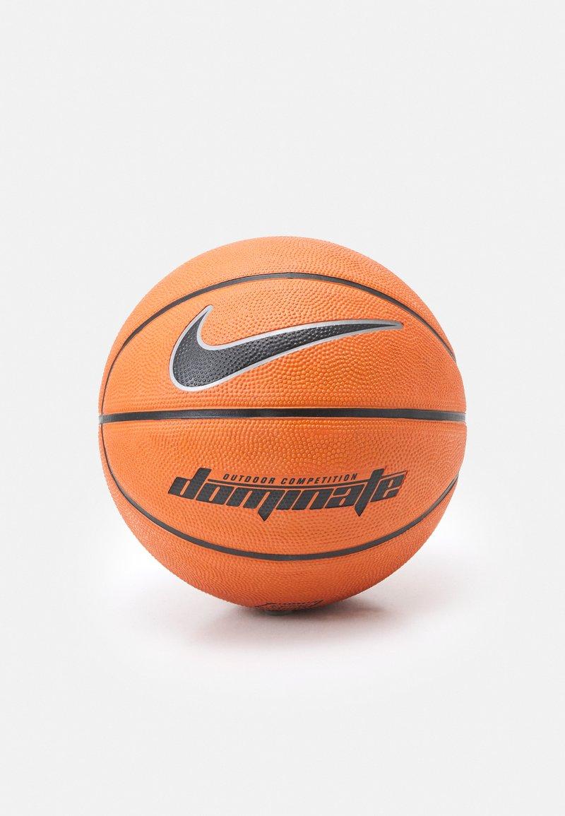 Nike Performance - DOMINATE  SIZE 7 - Basketbal - amber/black/platinum