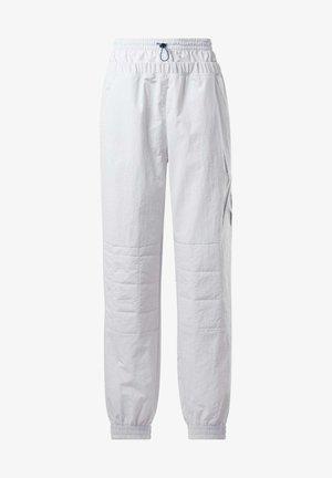 MYT JOGGERS - Spodnie treningowe - white