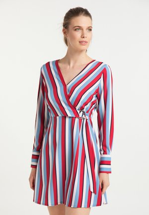 Day dress - multicolor gestreift