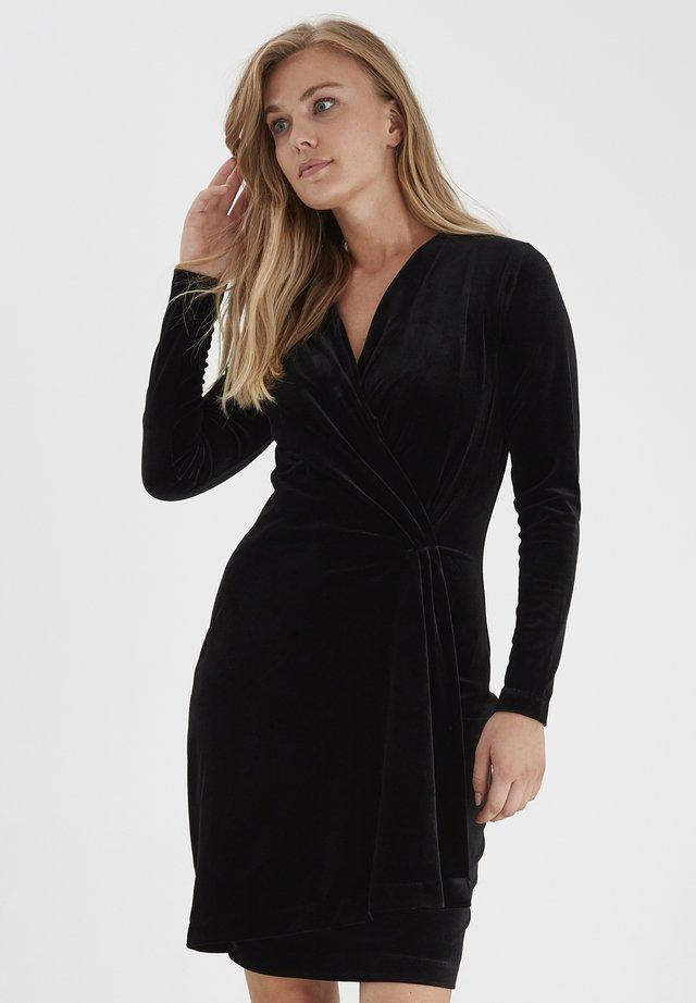 BYPERLINA  - Jersey dress - black