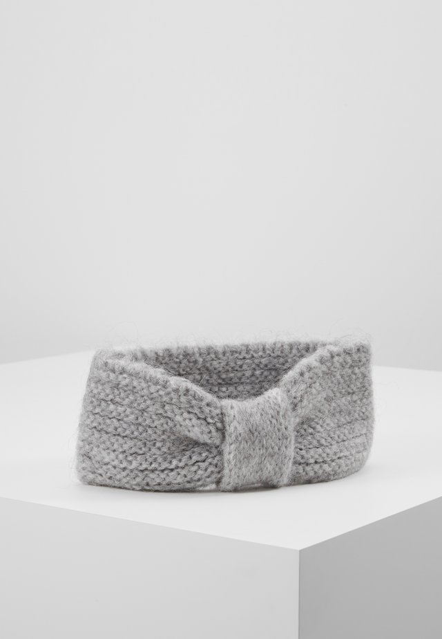 LINA MIX HEADBAND - Nauszniki - light grey melange