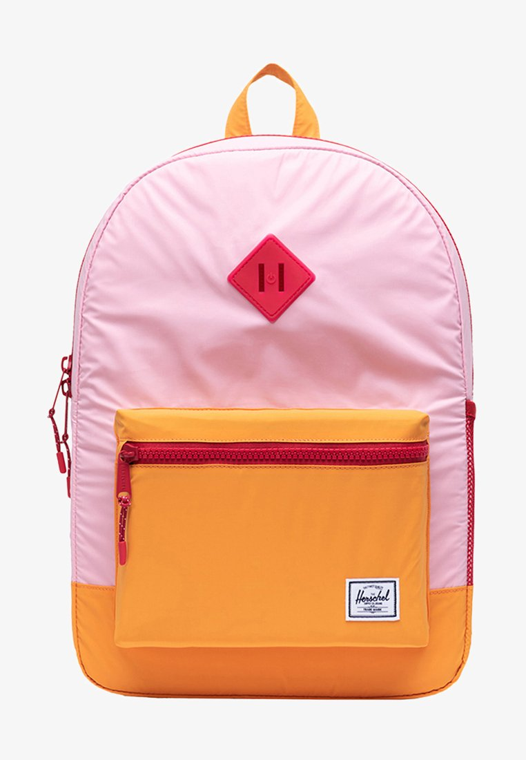 Herschel - School bag - candy pink reflective/blazing orange reflective/red light