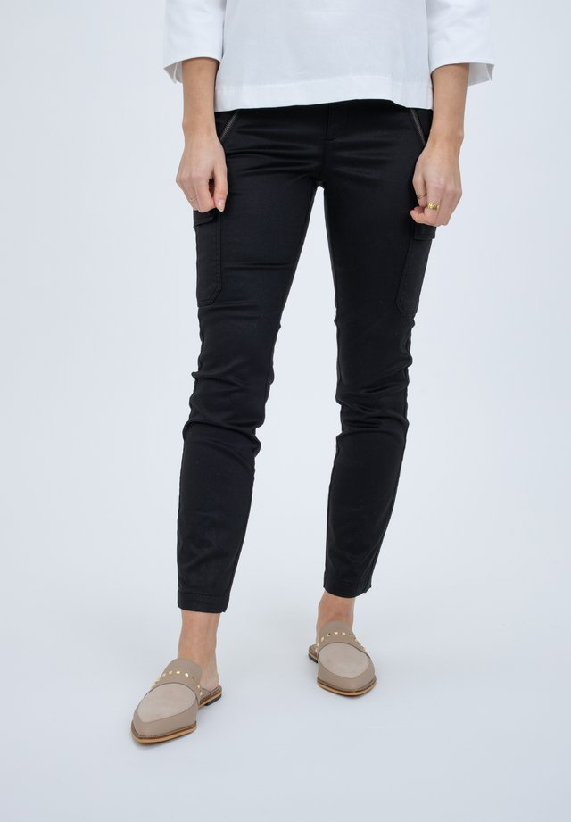 STYLE - Trousers - black