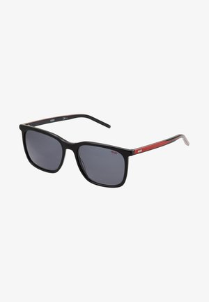 Sunglasses - black/red